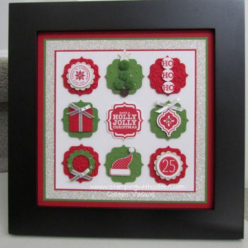 Christmas Sampler 8 x 8