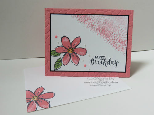 Garden in Bloom Card and Envelope