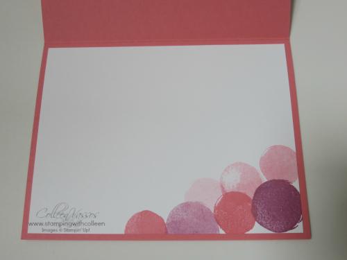 Inside Celebrate-Flirty Flamingo